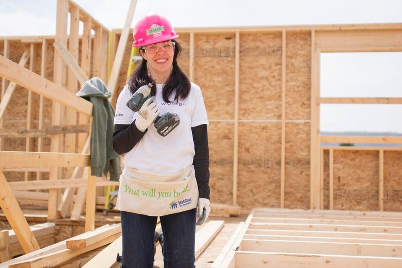 Calgary Foundation Women Build Day
