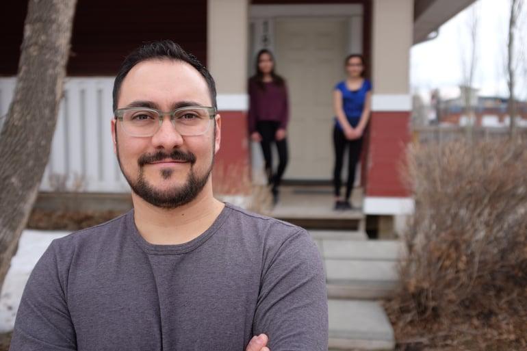 Edgar bought his Habitat home in Capitol Hill last fall