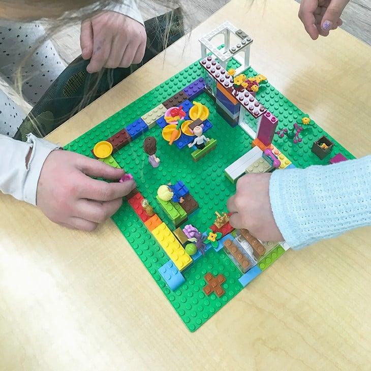 Kids-Building-Lego-House
