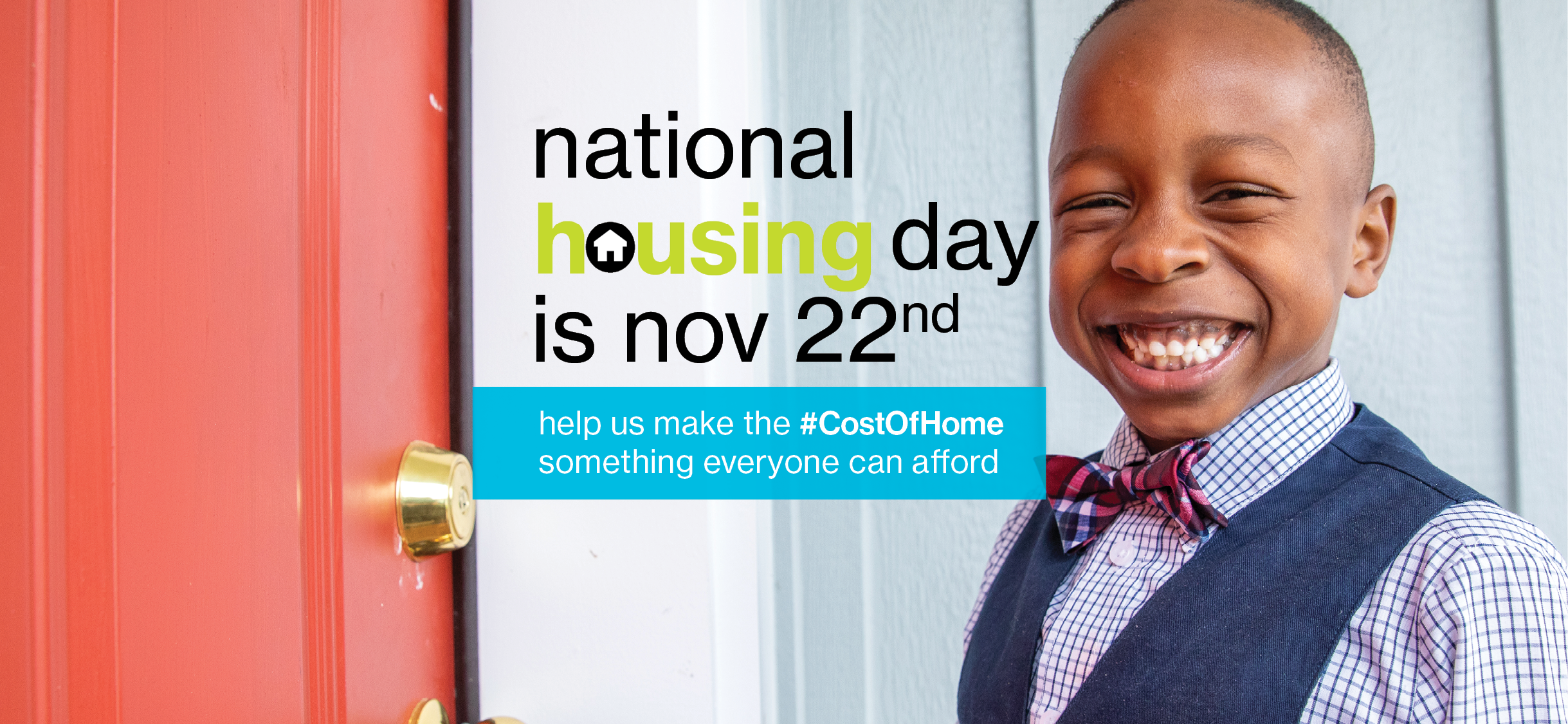 National Housing Day and the Cost of Home Campaign