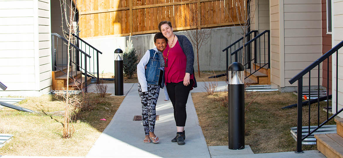 Nicole and Grace, Silver Springs homeowners