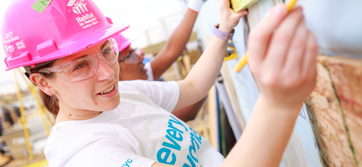 Habitat for Humanity Women Build in Calgary