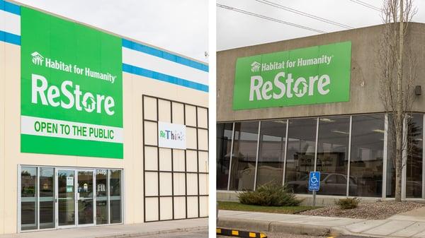 Habitat ReStore locations in Calgary