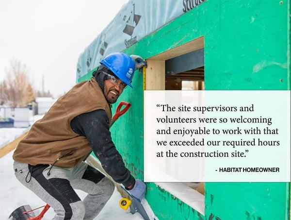 Volunteer Construction Quote