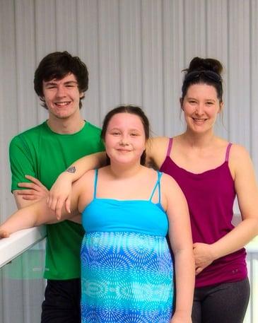Grayden, Dominik, and Arienne