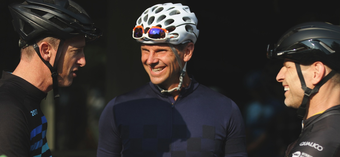 Ken Crockett, Vice President of Star Building Materials and Founder of Ride through the Rockies