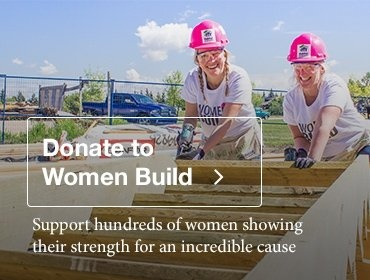 Donate to Habitat for Humanity's Women Build