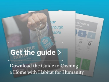 Download the Guide to Owning a Home with Habitat for Humanity in Calgary