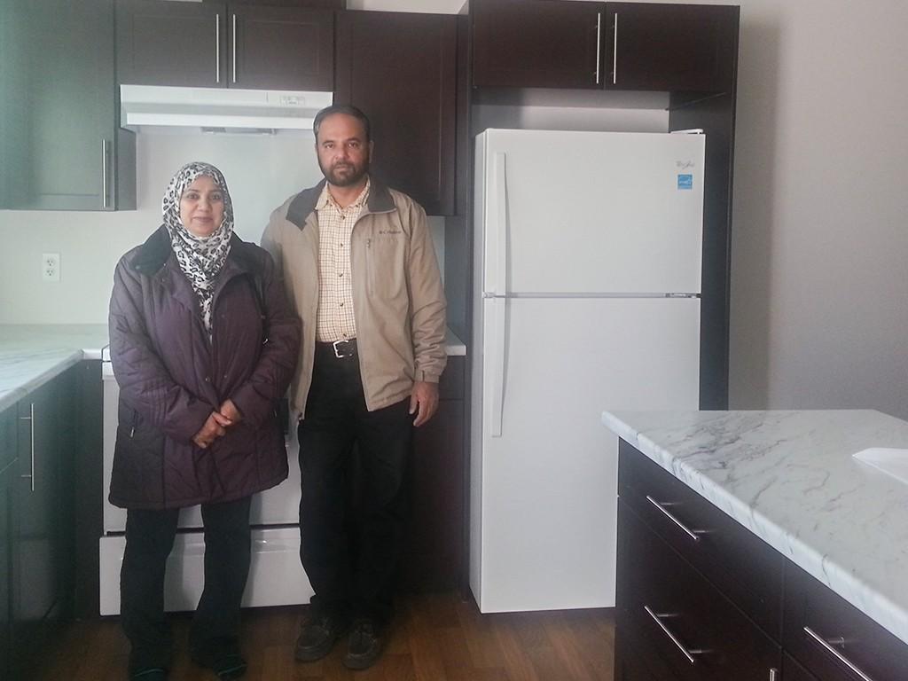 Iqbal and Ruhksana Radisson