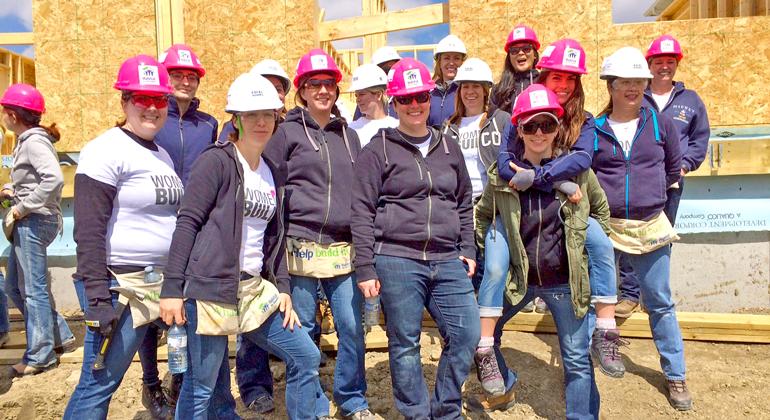 Habitat For Humanity Women S Build  Calgary